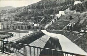 Roamania Bicaz Uzina hidrocentralei V. I Lenin de la Stejaru