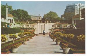 Canada Ontario Oakes Garden Theatre Niagara Falls Vintage Postcard