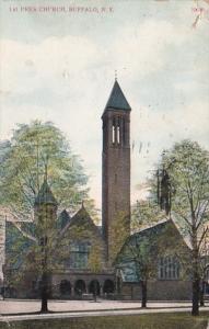 New Yok Buffalo 1st Presbyterian Church 1923