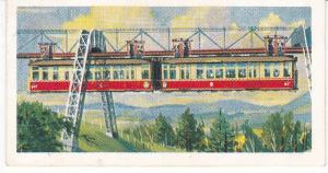 Trade Cards Brooke Bond Tea Transport Through The Ages No 30 Monorail