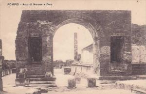 Arco Di Nerone E Foro, Pompei (Campania), Italy,, 1900-1910s