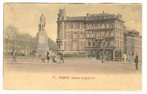 Statue Leopold Ier, Namur, Belgium, 1900-1910s