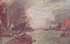 London River Thames Tate Gallery Painting London Reward Card