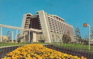 Contemporary Resort Walt Disney World Orlando Florida 1974
