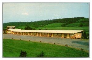 Postcard PA Bloomsburg Danville Pennsylvania Stone Castle Motel c1950s Q22