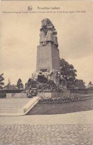 Belgium Brussels Laeken Monument erige au Soldat Inconnu francais tombe sur l...
