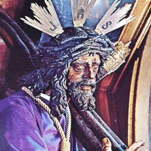 Vintage Collectible Post Card Sevilla 596 - Nuestro Padre Jesus del Gran Poder