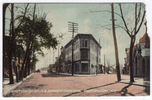 Phillipsburg, N.J., Junction Of Main & Market Streets