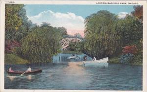 Illinois Chicago Lagoon In Garfield Park