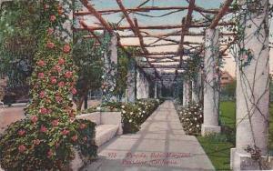 California Pasadena Pergola Hotel Maryland