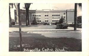 Dodgeville New York Central School Real Photo Antique Postcard K86584