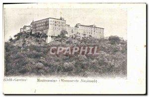 Old Postcard Montecassino