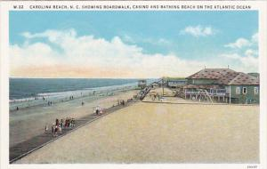 CAROLINA BEACH , North Carolina , 00-10s ; Boardwalk , Casino & Beach