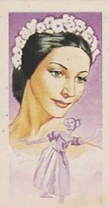 Brooke Bond Tea Vintage Trade Card Famous People 1967 No 44 Dame Alicia Markova