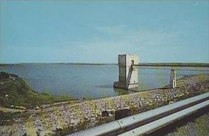 Kansas  Junction City Tuttle Creek Reservoir Looking North From Den Site