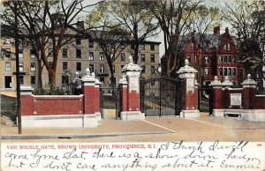 Rhode Island Providence ,  Van Wickle Gate, Brown University