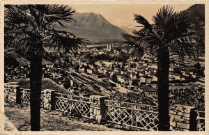 Switzerland Bellinzona Panorama General view Postcard