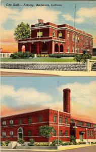 IN - Anderson.  Armory, City Hall