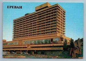 Yerevan Armenia  Dvin Hotel Architecture Memorial Building Old Vintage Postcard