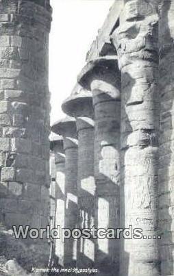 Karnak the innci Hypostyles Eqypt Unused