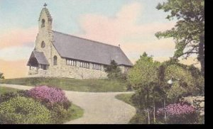 Maine Ogunquit St Peters-By-The-Sea Epioscopal Church Handcolored Albertype
