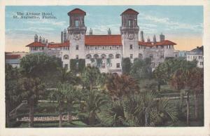 Alcazar Hotel, St. Augustine, Florida 1910-20s