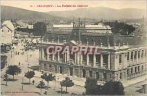 Old Postcard Belfort Courthouse