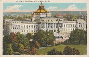 Library Of Congress Building, Washington, DC - WB