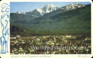 Canada Jasper Village Jasper & Mount Edith