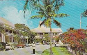 Bahamas Nassau Front Driveway To Government House