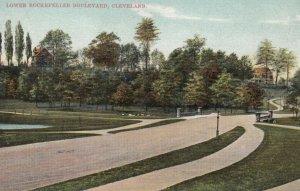 CLEVELAND, Ohio, 1901-07; Lower Rockefeller Boulevard