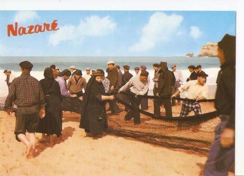 Postal 033810 : Nazare (Portugal). aspectos tipicos
