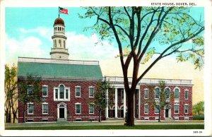 Dover DE State House Building Postcard unused (16430)