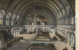ST. LOUIS, Missouri, 1900-10s;Grand Hall Union Railroad Station