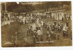 England THE BATH HISTORICAL PAGEANT 1909 RPC