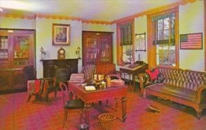 Pennsylvania Lancaster The Study Wheatland Home Of James Buchanan 15th Presid...