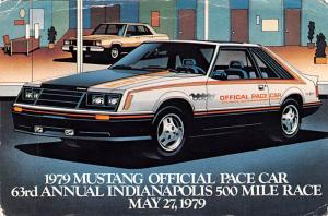 1979 Mustang Office Pace Car -