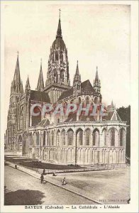 Old Postcard Bayeux (Calvados) - The Cath�drale - Labside