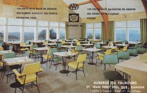 Auberge du Faubourg , ST. JEAN-PORT-JOLI, Quebec, Canada, 50-60s Interior