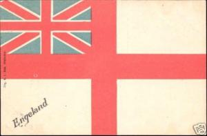 United Kingdom, England, National FLAG (ca. 1899)