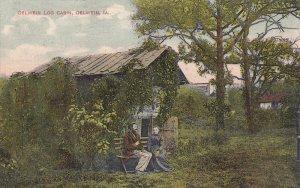 OELWEIN , Iowa , PU-1909 ; Log Cabin