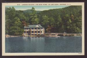 Book Store Lake Susan Montreat NC Postcard 4042