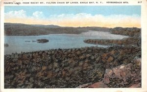 From Rocky Mt Fulton Chain of Lakes Fourth Lake, New York
