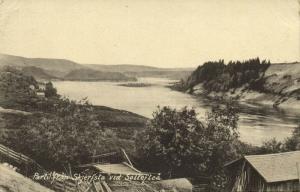 sweden, SOLLEFTEÅ, Parti från Skjerfsta vid Sollefteå (1913) Stamp