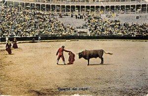 Suerte de capa Tarjeta Postal Bullfighting Unused