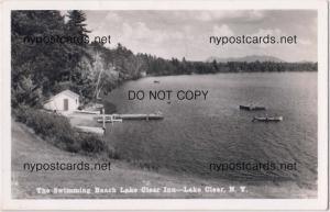RPPC, Swimming Beach, Lake Clear Inn