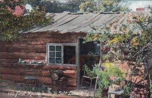 First House Built In Salt Lake City Utah 1909
