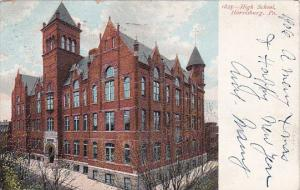 High School Harrisburg Pennsylvania 1906