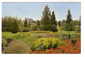 City View From Gardens at Stanley Park Entrance, Vancouver, BC, Photo John Smith