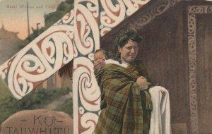 Maori Woman & Child , New Zealand , 00-10s